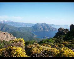 maquis-et-girolata-en-contrebas | Port de plaisance de Girolata ...