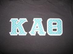 #DesignerGreek #KappaAlphaTheta #Customshirt #GreekPride #polkadots