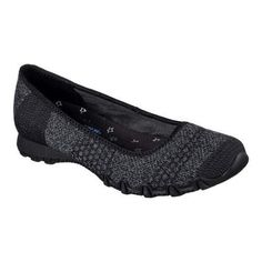 520043d39aea9 Women s Skechers Relaxed Fit Bikers Tropicana Ballet Flat Skimmer Black