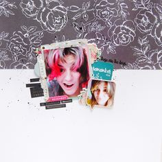 Scrapbooking Layout by Zinia for Creative Retreat
