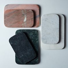 Marble & Metal Serving Board on Serving Board, Serving Platters, Charcuterie Spread, Organic Ceramics, Marble Board, Granite Cutting Board, Cutting Boards, Affordable Home Decor, Food 52