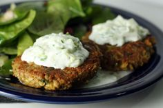 Chickpea patties - good sub for meat