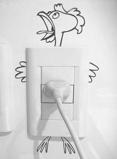 Kids Room Wall Murals – Uncinetto Yatak odası – home accessories Creative Wall Painting, Wall Painting Decor, Creative Walls, Diy Wall Art, Diy Wall Decor, Diy Home Decor, Home Decor Furniture, Room Decor, Wall Drawing