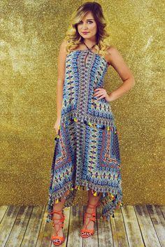 Island Girl Dress: Multi
