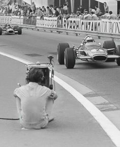 Richard Attwood Lorus 49B Monaco  1968