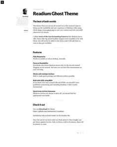 7 Best Ghost Blog images | Wordpress, 'salem's lot, Web Design