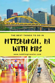 If you're visiting Pittsburgh with kids or live here, we have you covered with the best things to do with toddlers in Pittsburgh. Visit Pittsburgh, Best Places To Live, Best Places To Travel, Travel With Kids, Family Travel, Kids Things To Do, Fun Things, Great Buildings And Structures