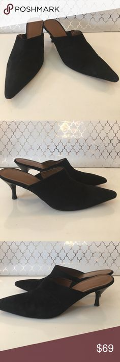 ⭐️DONALD J. PLINER HEELS 💯AUTHENTIC DONALD J. PLINER LOVELY BLACK SUEDE HEELED SHOE 100% AUTHENTIC. STUNNING AND STYLISH TOTALLY ON TREND ! JUST LOVELY ! He size is 6.5 m Donald J. Pliner Shoes Heels