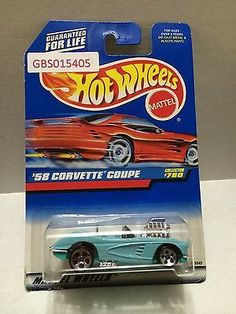 (TAS031035) - Hot Wheels '58 Corvette Coupe - Collector #780