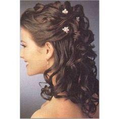 cool Coiffure de mariage 2017 - Coiffure mariage cheveux longs boucles...