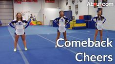 Cheers and chants for a team comeback are essential for cheerleading to know, since they are there to motivate their sports teams. Check out these cheers for. Team Chants, Cheerleading Chants, School Cheerleading, Cheer Jumps, Cheer Stunts, Cheer Dance, Cheers And Chants, High School Cheer, Cheer Spirit
