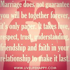 Just a piece of paper #respect #loyalty #love