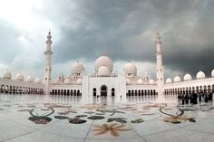 Sheikh Zayed Grand Mosque is located in Abu Dhabi, the capital city of the United Arab Emirates, and is considered to be the key site for worship in the country.