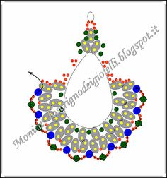 The Jewel Box: Hijab Earrings Pattern Seed Bead Jewelry, Seed Bead Earrings, Beaded Earrings, Beaded Jewelry, Handmade Jewelry, Jewellery, Beading Tutorials, Beading Patterns, Twin Beads