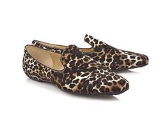 Jimmy Choo Leopard Loafers