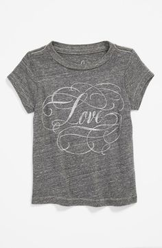 Peek 'Love' Tee (Baby Girls) available at #Nordstrom