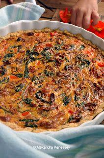 Alexandra Gasztroblogja Sydneyből: Gluténmentes quiche (sós pite)