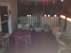Tea lights Rooftop Terrace, Tea Lights, Indoor Outdoor, Tea Light Candles, Roof Terraces, Rooftop Deck, Rooftop Patio