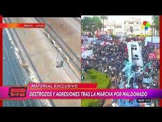 Incidentes y destrozos en Plaza de Mayo tras la marcha por Santiago Mald...