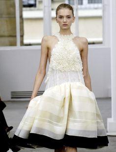 Lily Donaldson at Balenciaga Spring/Summer 2006