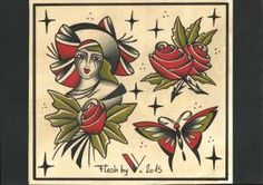 Miss rose-flash tattoo-2015