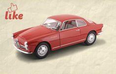 Alfa Romeo Giulietta Sprint Coupé #modellini #vintage #auto