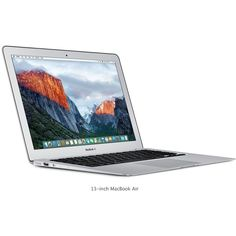 11-inch MacBook Air ❤ liked on Polyvore featuring accessories