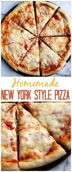 New York Style Cheese Pizza - made at home and so easy! : bakerbynature