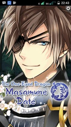 Masamune Date from Ikemen Sengoku His Voice so Cool....!!! >///∆///<