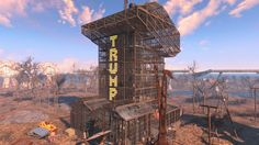 Donald Strong (@realdonnystrong) | Twitter Fallout 4 Tips, Fallout 4 Settlement Ideas, Laughing Jokes, Fall Out 4, Very Funny Jokes, Building A House, Canon, Video Games, Funny Pictures
