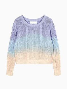 Sweater with Dip Dye