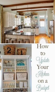 Best DIY Projects: Great tips on how to update your kitchen on a budget.