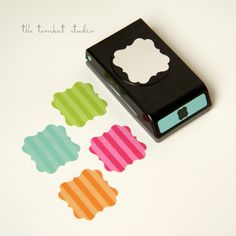 Flourish Paper Punch  Party and Craft Supplies  by tomkatstudio, $14.99