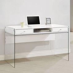 Coaster Furniture Glass Sided Computer Desk - 800829