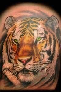Tiger Tattoo By Joshua Hibbard Pismo Beach Ca – Picture At