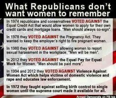 Republicans hate women. So important.