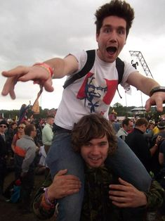 Their first Glastonbury show, a love for chicken, Dan wearing a kfc shirt every day for months. So adorable.