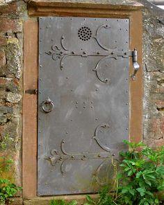 Iron Gate - Mouscron Castle 15th Cen Belguim