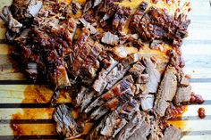 Tangy tomato brisket, aka Passover brisket from the Pioneer Woman Passover Recipes, Jewish Recipes, Israeli Recipes, Pioneer Woman Brisket, Pork Brisket, Baked Brisket, Brisket Tacos, Bbq Beef Sandwiches, Beef Recipes