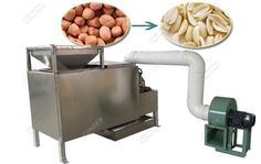 Hot Sale Peanut Half Cutting Machine