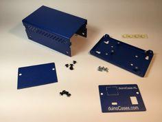 Amazon.com: duinoCase-AL - Quality Metal Enclosure for Arduino Leonardo: Computers & Accessories