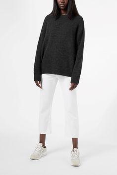 Weekday - Mari Sweater in Grey Dark