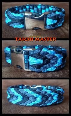 Plaited Chevron Sinnet Paracord Bracelet