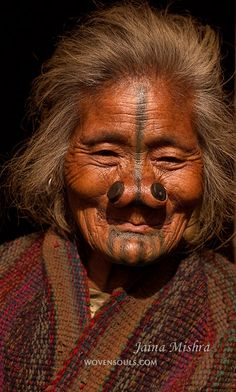 "India | ""Definers of Identity. Providers of security. Enhancers of Beauty."" Apatani Tribe, Arunachal Pradesh 