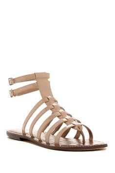 0d2a0f8d2588b Gilda Croc Embossed Footbed Gladiator Sandal by Sam Edelman on   nordstrom rack Gladiator Sandals