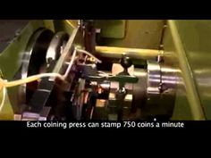 How it's made! Denver MINT Coin Process Video This video was produced by JSP Broadcast, Inc. of Denver, Colorado. For information on video production visit u...