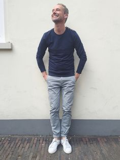 Shirt and trousers (and men:-)) by 'Goodpeople'