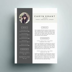 This resume is included in our Go Big or Go Home Bundle that includes 10 resume designs + 4 business cards! You can pick it up for only $29