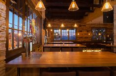 We worked with our client, The Arden, to prepare table tops that provide space for beer taps. This environment is just one example of the many ways we work to create customized, noteworthy spaces.