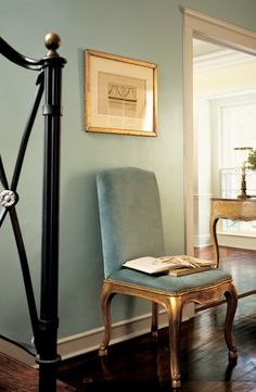 An Elegant, Vintage Green Is The Perfect Complement To Gilded Accents. Ralph  Lauren Paint